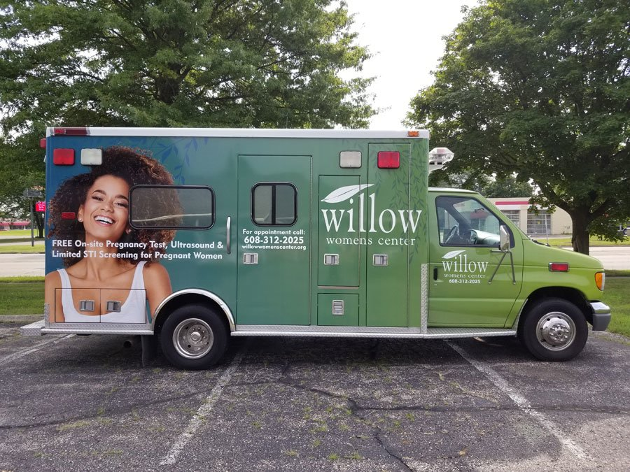 Willow Womens Center Free Ultrasound Mobile Unit